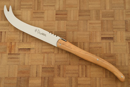 Laguiole Cheese Knife with Olive Wood