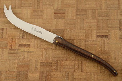 Laguiole Cheese Knife with Pakkawood