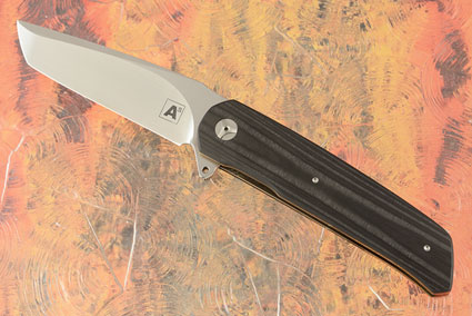 A7 Tanto Flipper with Unidirectional Carbon Fiber (IKBS)