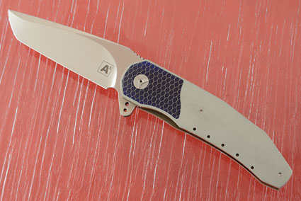 A3 Tanto Interframe Flipper with Grey G10 and C-Tek (Double Row IKBS)