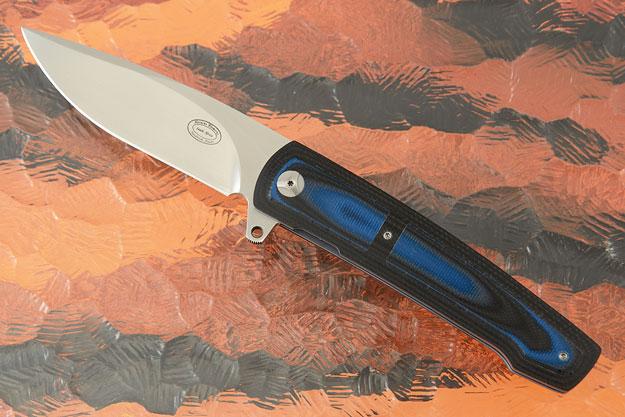 LL07 Interframe Flipper with Layered Black/Blue G-10 (IKBS)