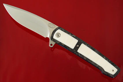 LL07 Interframe Flipper with Carbon Fiber and Synthetic Ivory (IKBS)