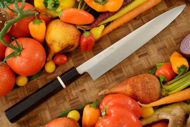 Honyaki Slicing Knife - Sujihiki, 240mm (9-1/2 in)