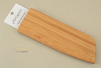 Magnetic Bamboo Saya (Sheath) for Santoku (up to 7-1/2 inches)