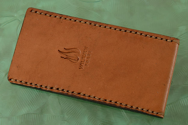 Folding Knife Pouch - American Horse Hide