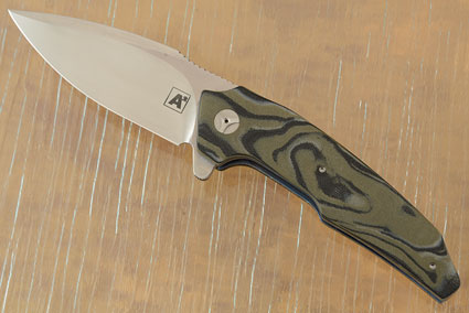 A6 Flipper with Camo G10 (Collaboration with Tashi Bharucha) - IKBS