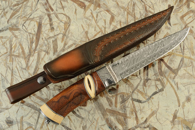 Nordic Hunter with Ironwood and Mammoth Ivory