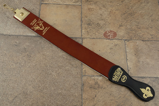 Illinois Razor Strop #206 - Top Grain Cowhide (2 x 20 inches)