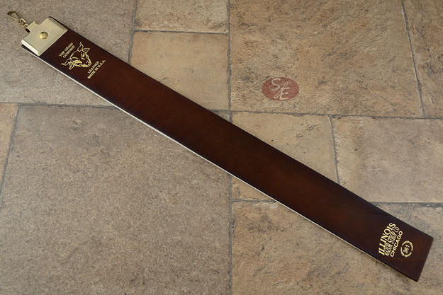 Illinois Razor Strop #361 - Top Grain Cowhide (2-1/2 x 24 inches)