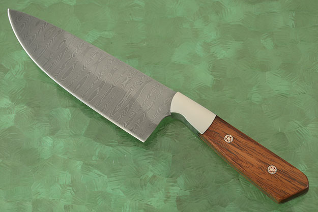 Chef's Knife (5-3/4 in) with Desert Ironwood and Damascus