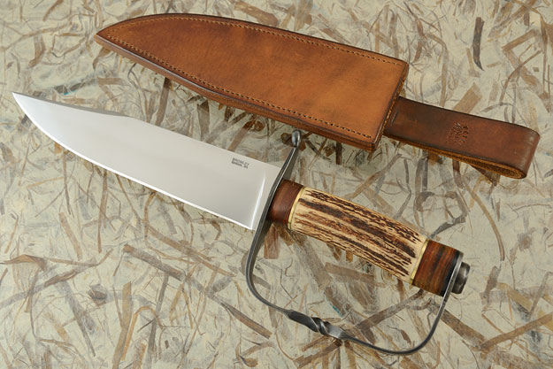 D Guard Bowie with Sambar Stag
