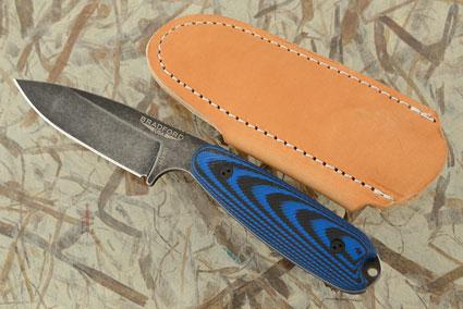 Guardian 3.5 - 3D Black/Blue G10, Nimbus Blade, Sabre Grind