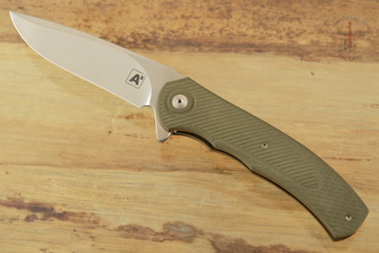 A4 Flipper with 3D OD Green G10 (Ceramic IKBS)
