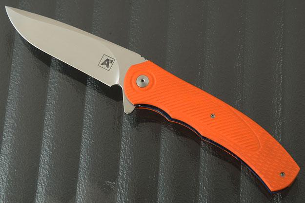 A4 Flipper with Orange G10 (Ceramic IKBS)