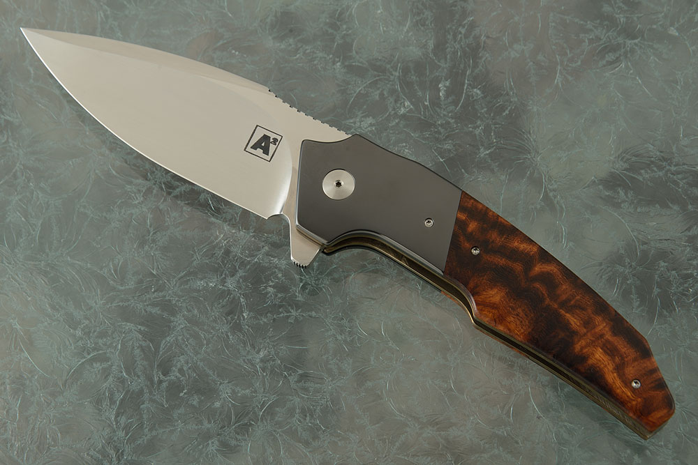 A6 Classic Flipper with Ironwood and Zirconium (Ceramic IKBS)