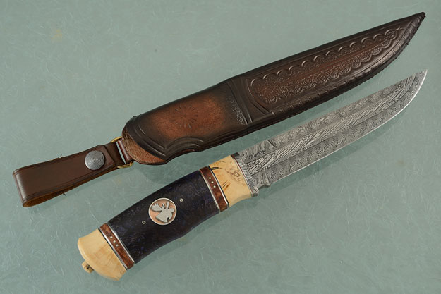 Nordic Hunter with Masur Birch, Ironwood and Mammoth Ivory