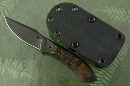 Every Carry with Maple, Tribal Markings and Caswell Finish (Jason Knight Collaboration)