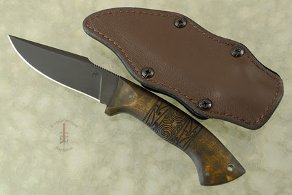 Pathfinder with Maple, Tribal Markings and Caswell Finish (Jason Knight Collaboration)