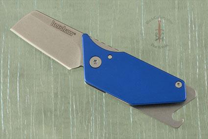 Pub (4036BLUX) Utility Key Ring Knife with Blue Aluminum