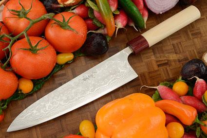 Asai Enji Damascus Chef's Knife - Gyuto - 8 1/4 in. (210mm)
