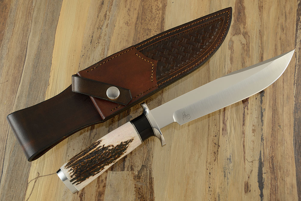 Bowie with Elk Antler and Black Maple