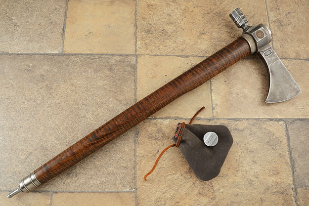 1863 Pennies Forged Octagon Pipe Tomahawk