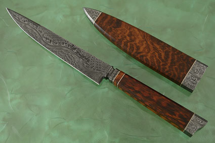 Integral River of Fire Cuchillo Gaucho with Snakewood