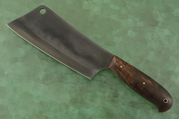 Meat Cleaver with Black Walnut