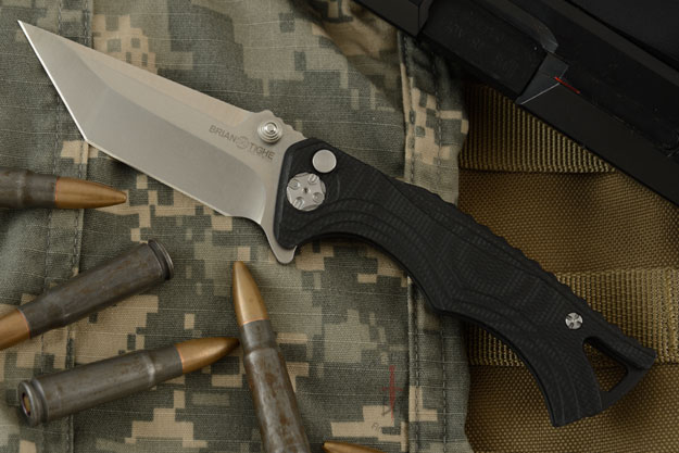 Tighe Fighter, Small with Tanto Blade - G10 Handle