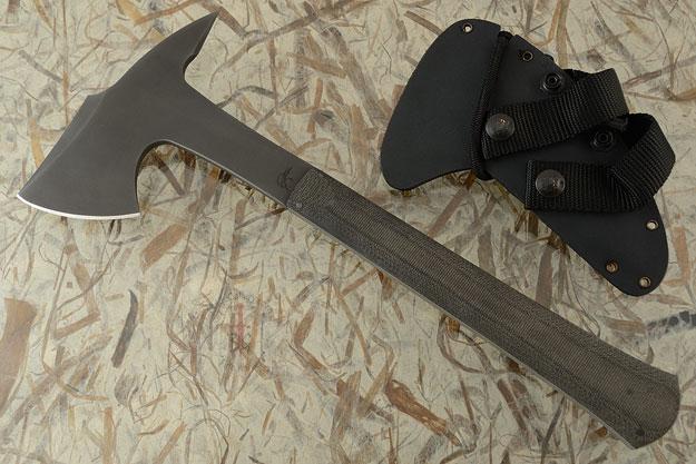 Knight Hawk with Black Micarta