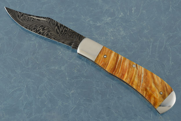 River of Fire Slipjoint Folder with Muskox