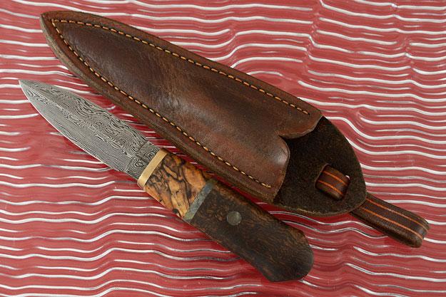 Bushwillow Damascus Dagger