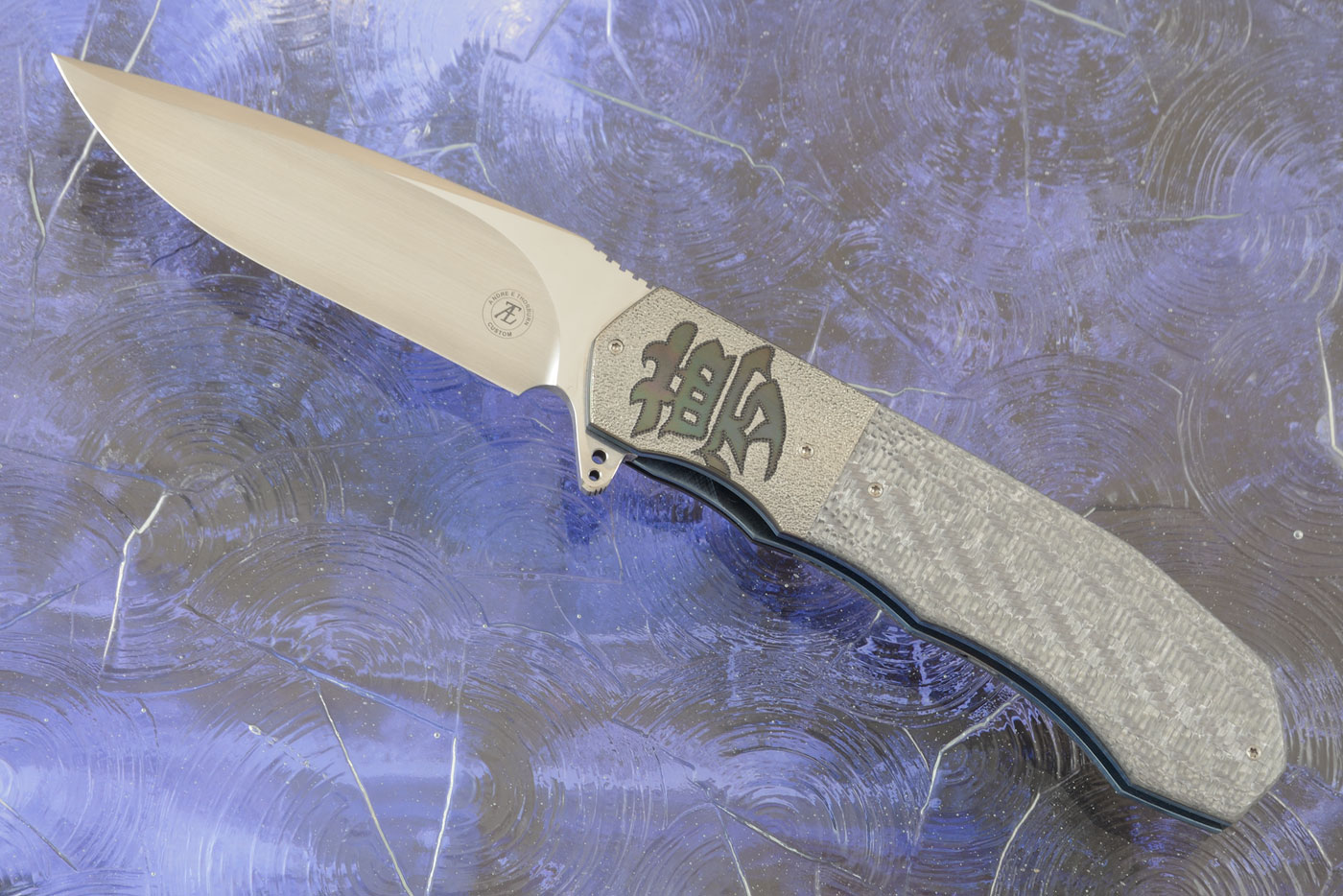 L44M Flipper with Silver Twill and Zirconium (Ceramic IKBS)