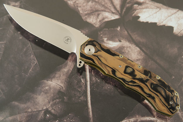 L51 Compact Flipper with Camo G10 (Ceramic IKBS)