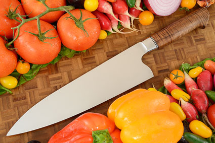 Integral Chef's Knife (Gyuto) with Tasmanian Blackwood (9-1/8 in)
