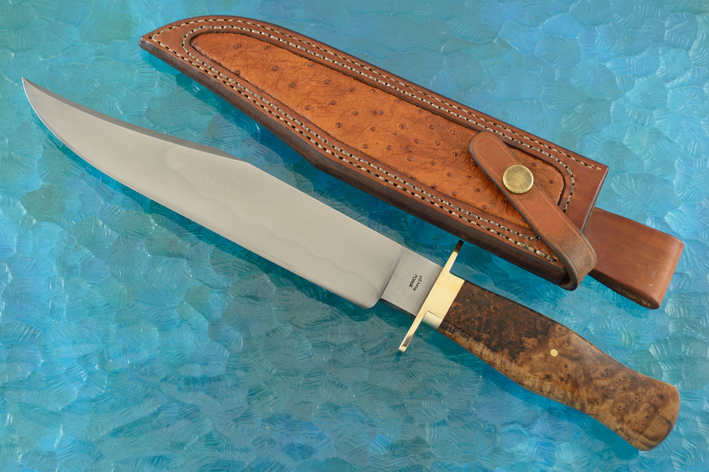 Hamon Bowie with Hairy Vitex Burl