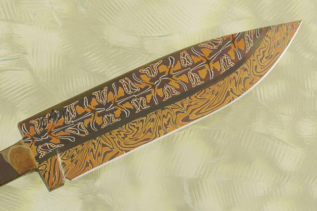 Mosaic Damascus Blade