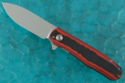 Flare Flipper with Red Carboquartz