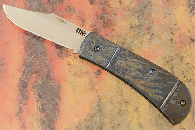 Lanny's Clip Slip Joint Folder with Entropic Finish Ti