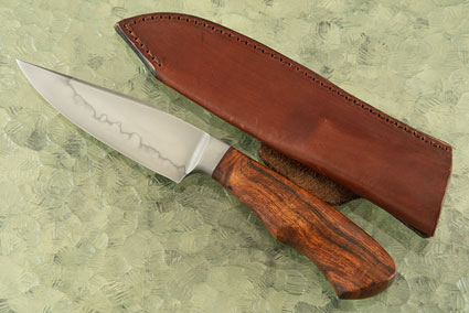 Integral Hamon Clip Point Hunter with Ironwood