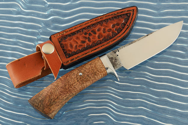Drop Point Hunter with Mango Wood