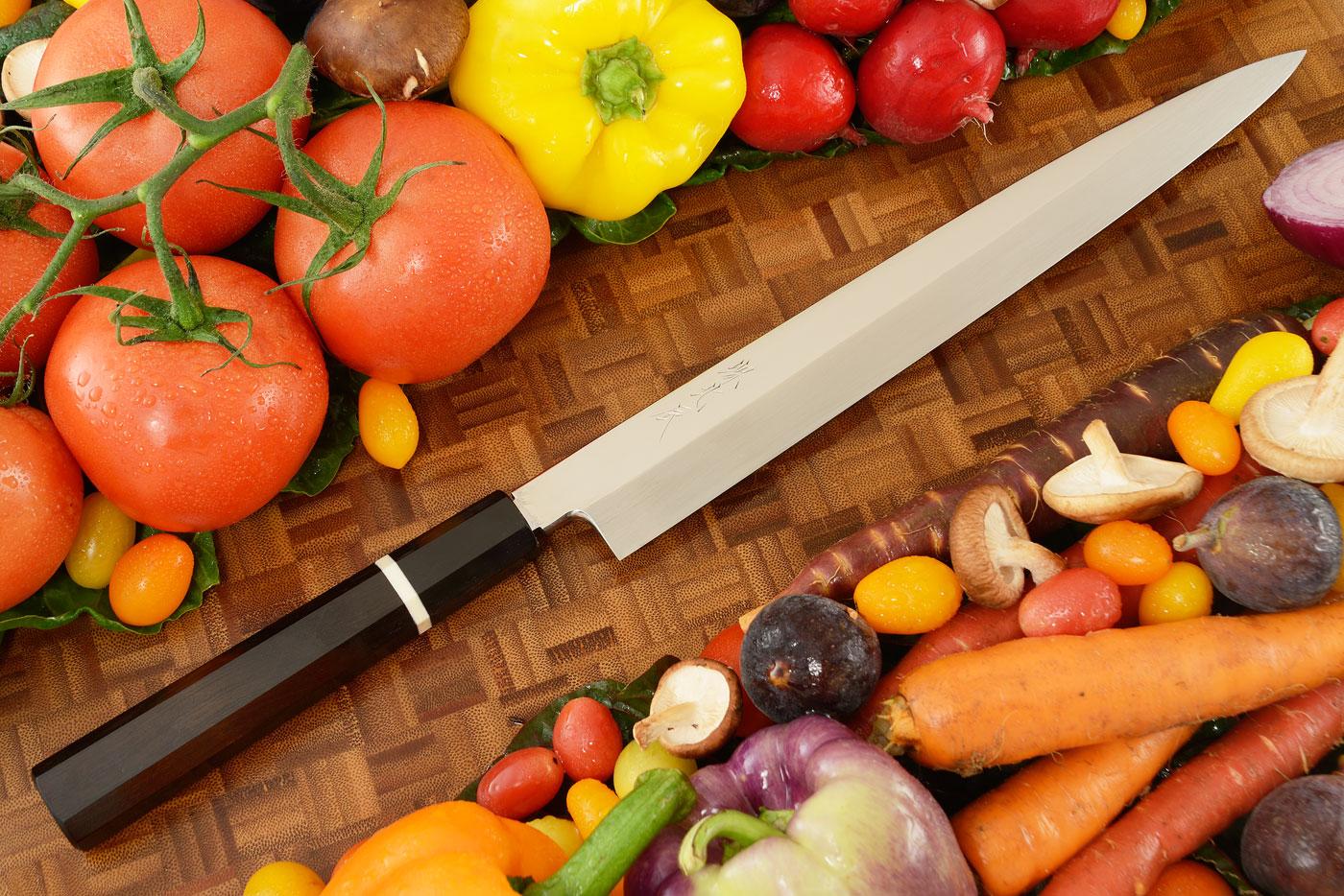 Honyaki Slicing Knife - Yanagiba, 270mm (10-2/3 in)