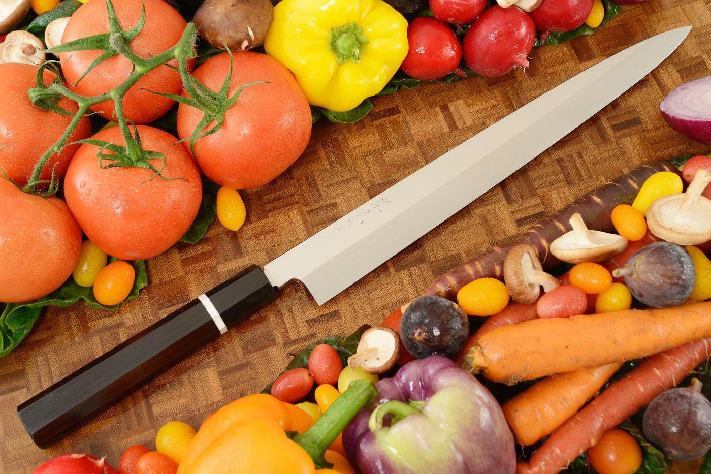 Honyaki Slicing Knife - Yanagiba, 300mm (11-3/4 in)