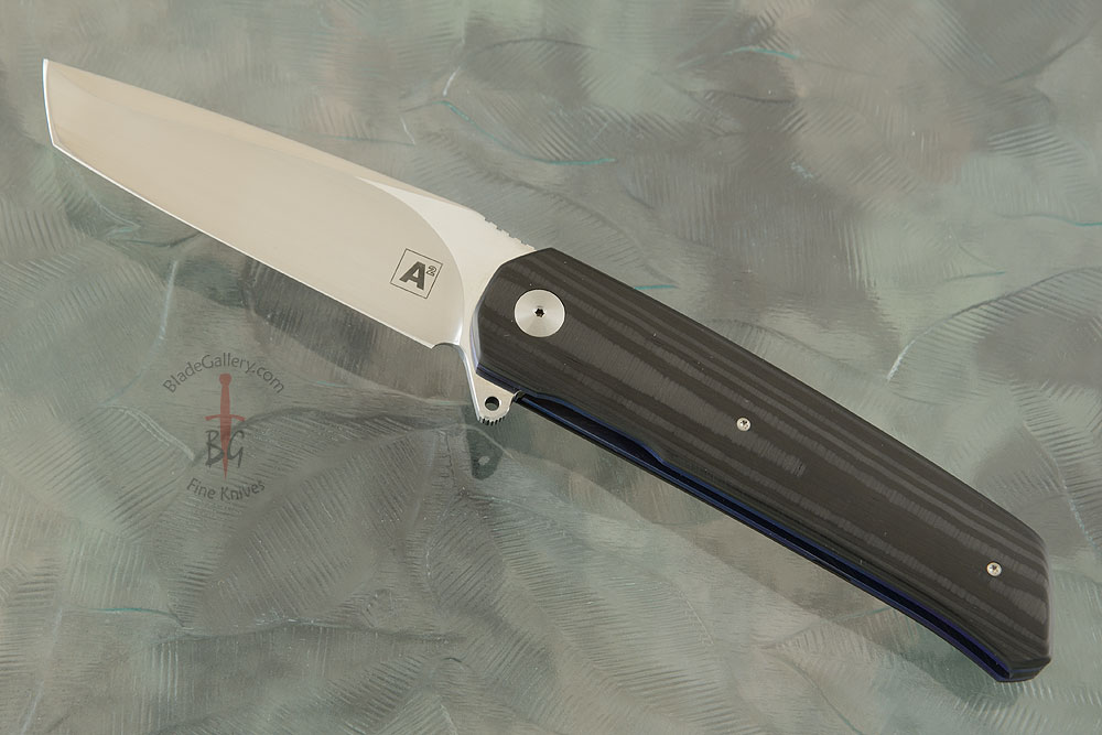 A7 Tanto Flipper with Unidirectional Carbon Fiber (Ceramic IKBS)