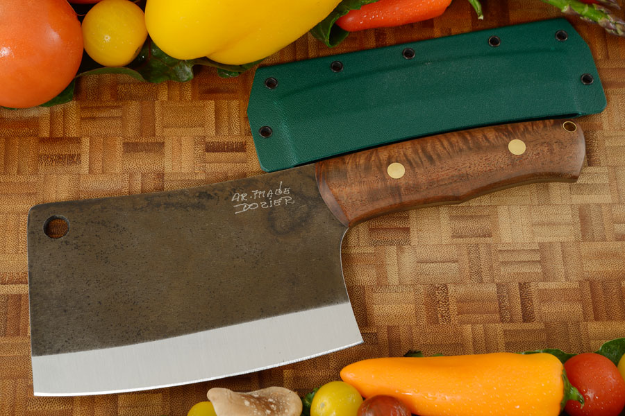 Meat Cleaver (K44) with Walnut