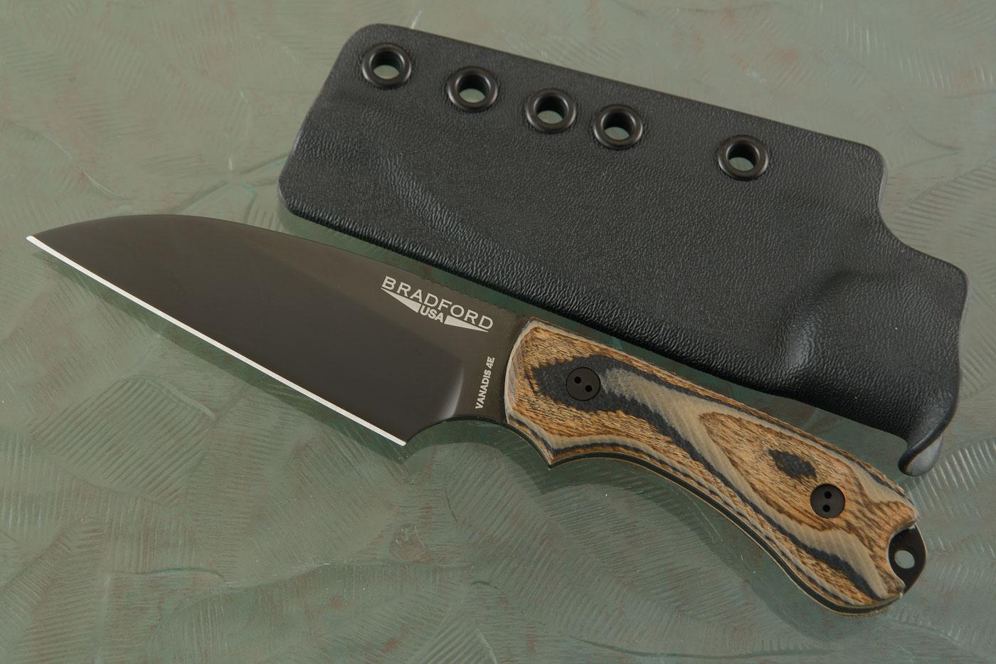 Guardian 3 - 3D G-Wood, Vanadis 4E, DLC Blade, Wharncliffe Grind