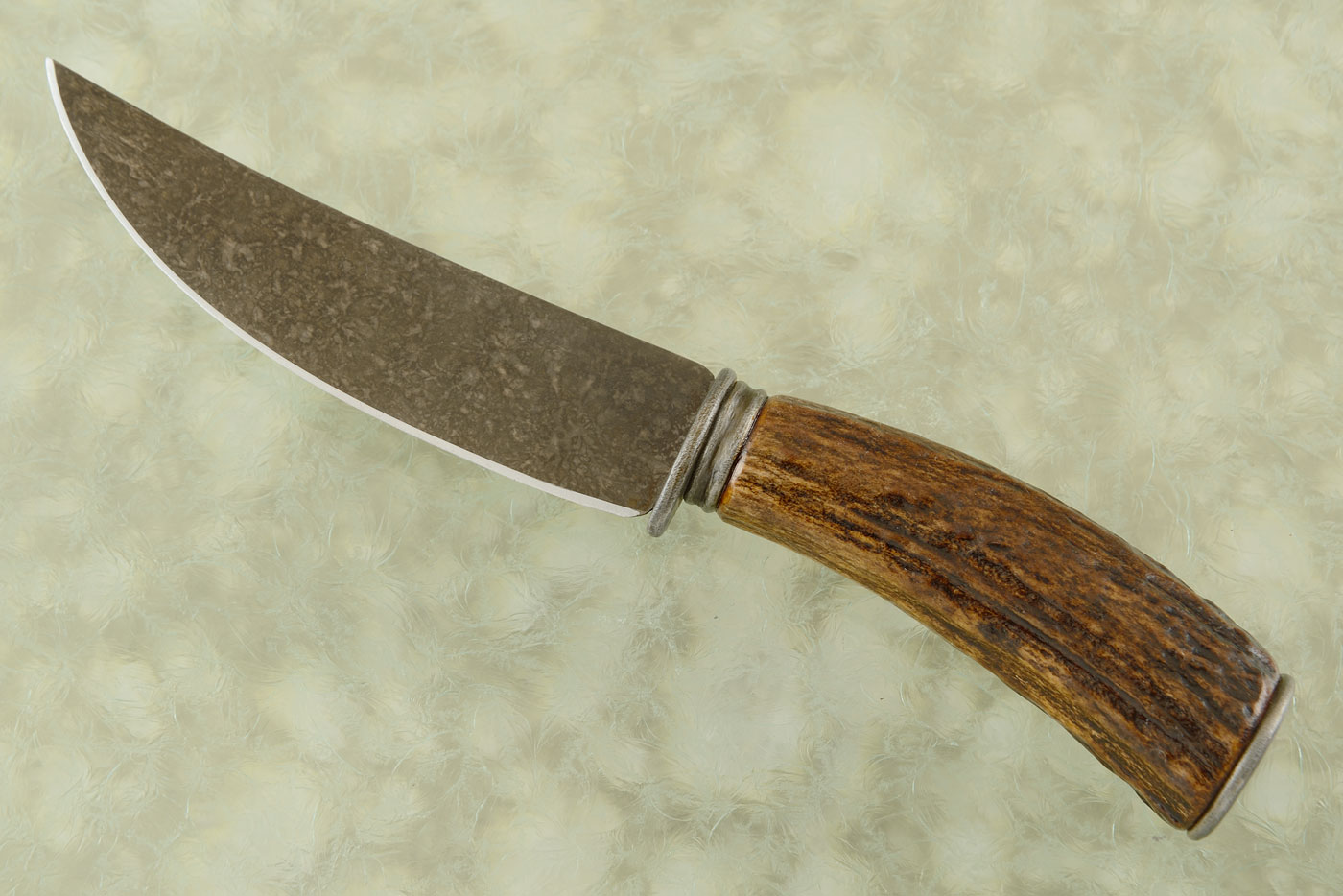 Upswept Skinner with Stag